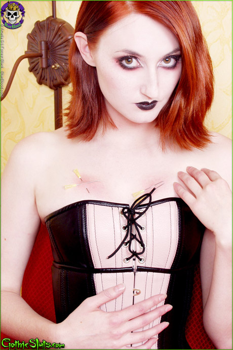 kendra james gothic play piercing